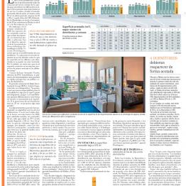 EyN: Superficie útil promedio crece 29 m2 en edificios nuevos de Las Condes