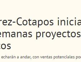 Moller y Pérez-Cotapos iniciará en próximas semanas proyectos en terrenos emblemáticos