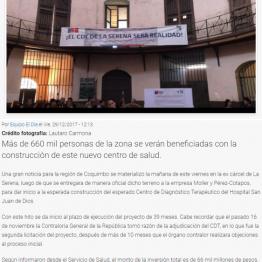 ¡Es una realidad! Se dará inicio a la construcción del esperado CDT en La Serena