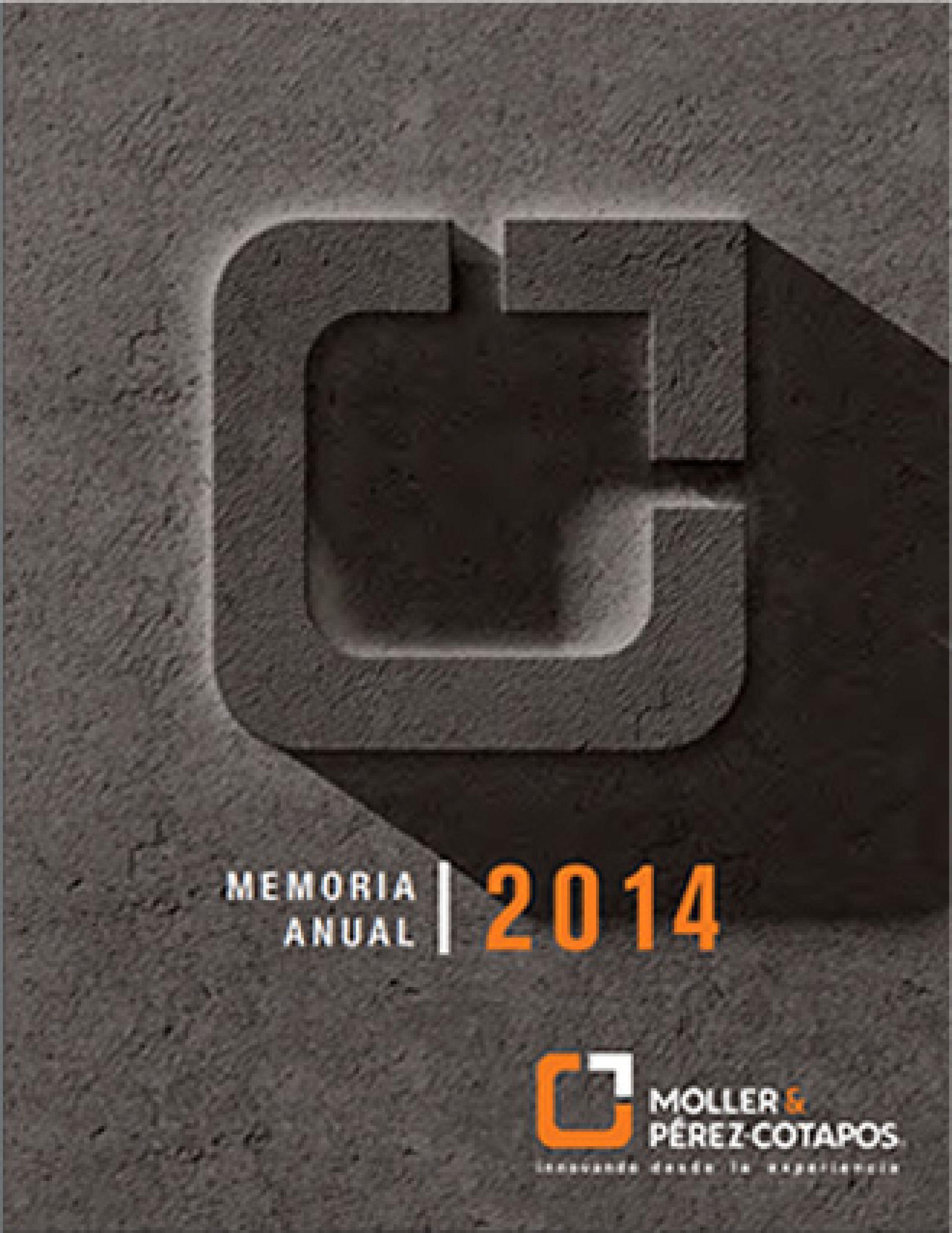 Memoria Anual Moller 2014