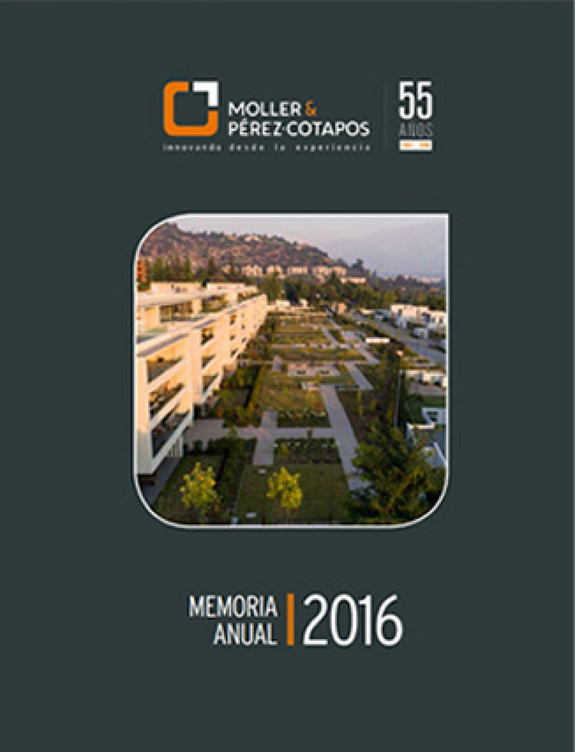 Memoria Anual Moller 2016