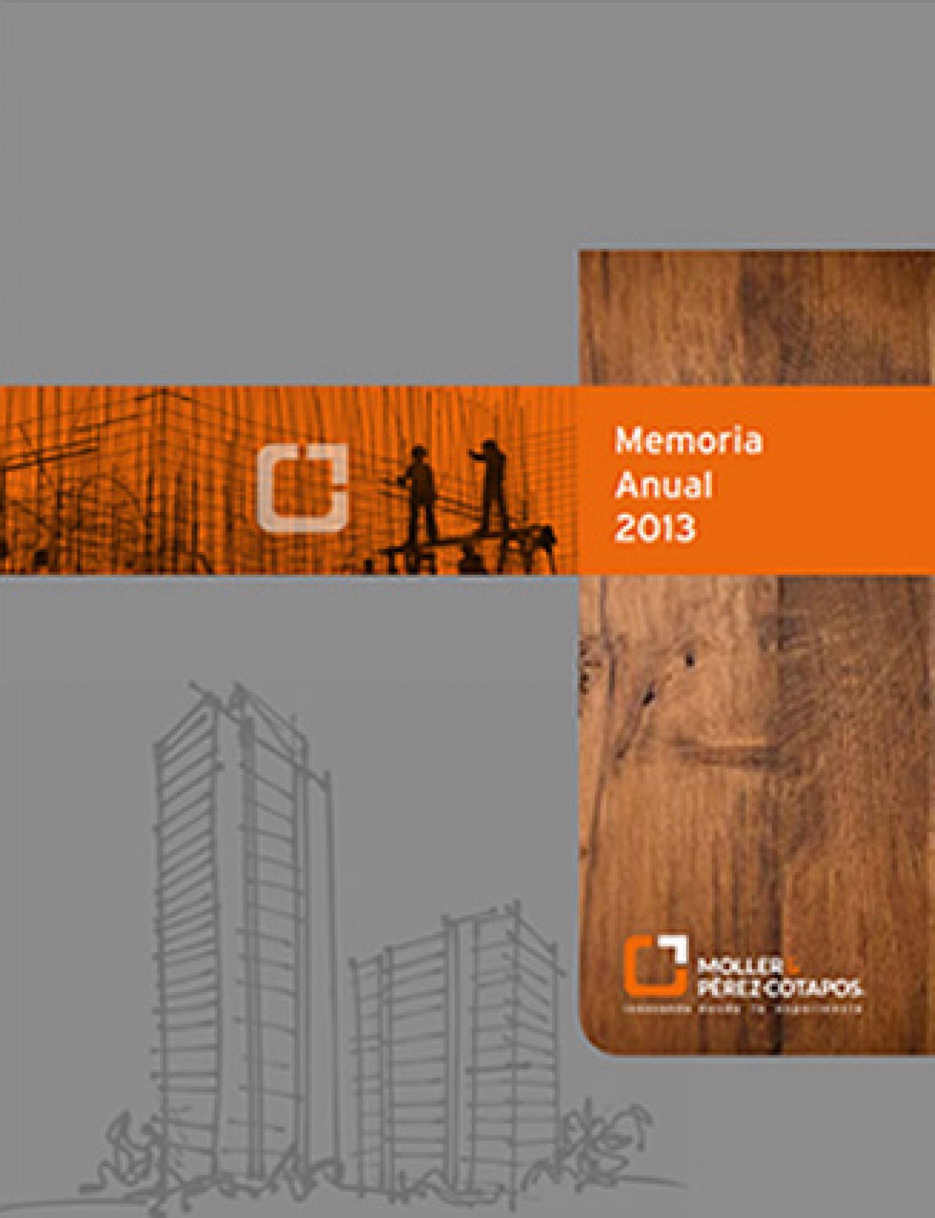 Memoria Anual Moller 2013